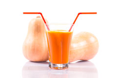 Pumpkin juice Royalty Free Stock Images