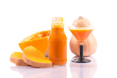Pumpkin juice Stock Image