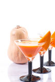 Pumpkin juice Royalty Free Stock Photo