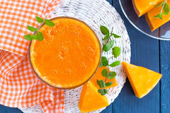 Pumpkin juice Stock Photos