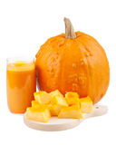 Pumpkin juice Stock Photography