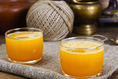 Pumpkin Juice, Smoothies. Studio Photo royalty free stock photography