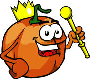 Pumpkin king Royalty Free Stock Images