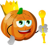 Pumpkin king Stock Images