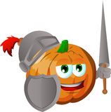 Pumpkin knight Royalty Free Stock Photography