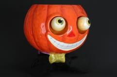 pumpkin krawat bow ceramiczne zdjęcie stock
