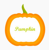 Pumpkin label Stock Photo