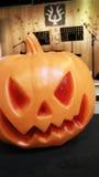 Pumpkin lamp Stock Image
