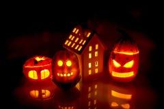 Pumpkin lantern Royalty Free Stock Images