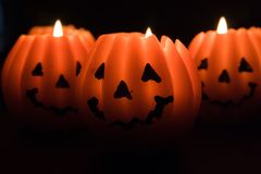 Pumpkin Lanterns Stock Images