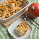 Pumpkin Lasagna Stock Photos