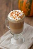 Pumpkin latte Stock Photo