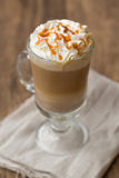 Pumpkin latte Stock Image
