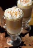 Pumpkin latte Royalty Free Stock Images