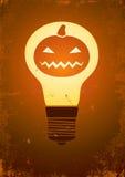 Pumpkin lights inside Stock Photos