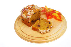 Pumpkin Loaf Stock Photo