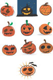 Pumpkin Madness Royalty Free Stock Photography