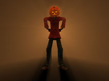 Pumpkin Man Stock Photos