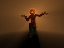 Pumpkin Man Stock Photography