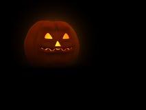 Pumpkin Man. 3d illustration of pumpkin head for Halloween Stock Images