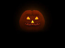Pumpkin Man. 3d illustration of pumpkin head for Halloween Royalty Free Stock Image