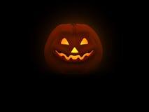 Pumpkin Man. 3d illustration of pumpkin head for Halloween Stock Photography