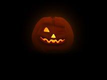Pumpkin Man. 3d illustration of pumpkin head for Halloween Stock Photos