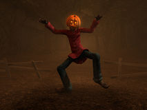 Pumpkin Man Royalty Free Stock Images