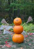 Pumpkin man Royalty Free Stock Photos