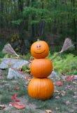 Pumpkin man royalty free stock photos