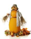 Pumpkin Man Royalty Free Stock Photography