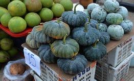Pumpkin market Stock Photos