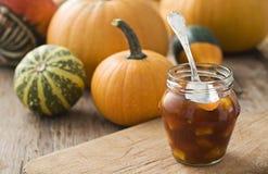 Pumpkin marmalade Stock Photos