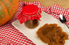 Pumpkin marmalade Stock Photography