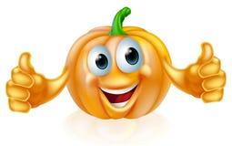 Pumpkin mascot Royalty Free Stock Photo