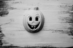 Pumpkin mask Royalty Free Stock Images