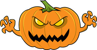 Pumpkin Monster Stock Images