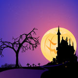 Pumpkin moon Royalty Free Stock Images