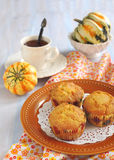 Pumpkin muffin Royalty Free Stock Image