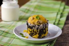 Pumpkin muffins Royalty Free Stock Photos