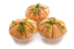 Pumpkin muffins royalty free stock images