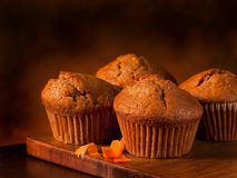 Free Pumpkin Muffins Royalty Free Stock Images - 53581919