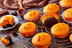 Pumpkin muffins for potluck or halloween