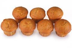 Pumpkin Muffins Stock Photography