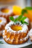 Pumpkin muffins Stock Photos