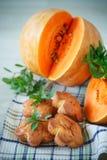 Pumpkin muffins Stock Image