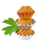 Pumpkin muffins Stock Images