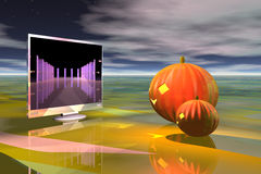 Pumpkin Net Royalty Free Stock Image
