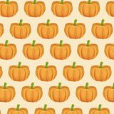 Pumpkin nutrition seamless pattern image. Vector illustration eps 10 Stock Photography