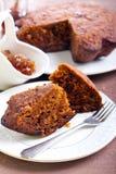 Pumpkin, oat cake Stock Image